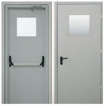 железные двери для подсобного помещения